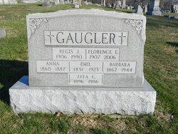 Florence Elizabeth <I>Saar</I> Gaugler