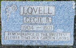 Cecil Bertram Alexander Lovell