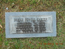 Diana <I>Powell</I> Carter