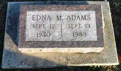 Edna Mae <I>Miller</I> Adams