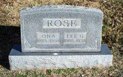 Lee G Rose