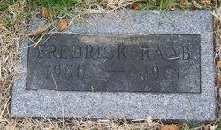 Frederick Raab