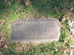 Ima <I>Hinton</I> Deans
