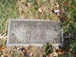 Ada <I>Woodson</I> Greene