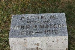 Altie M Maxson