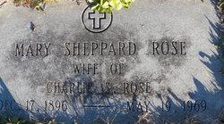 Mary <I>Sheppard</I> Rose