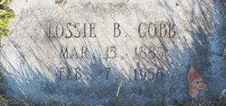 Lossie B. Cobb