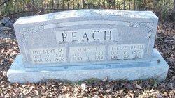 Mary J. <I>Garner</I> Peach