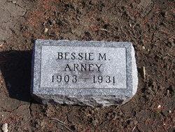 Bessie M. <I>James</I> Arney