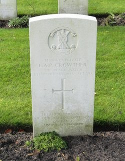 Private Lawrence Austin Crowther