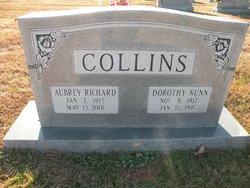 "Dorothy May Rilla ""Dot"" <I>Nunn</I> Collins"