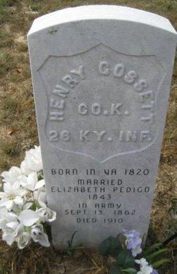 Henry Gossett