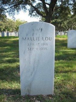 Mallie Lou <I>Sanders</I> Garren
