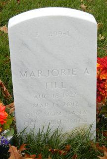 Marjorie A. <I>Brinkman</I> Till