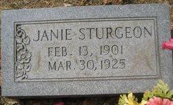 Nancy Janie <I>Garrison</I> Sturgeon
