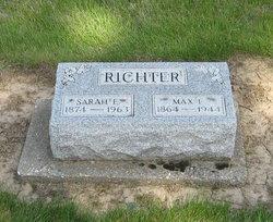 Sarah E <I>Stocker</I> Richter