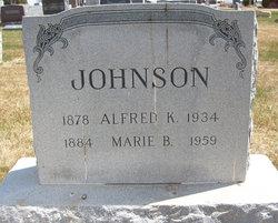 Alfred K Johnson
