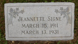 Jeannette Signe Johnson