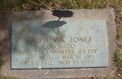 Ralph V K Jones