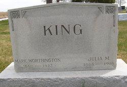 Julia M King