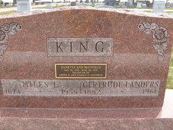 Gertrude <I>Landers</I> King