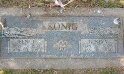 Ben F Konig