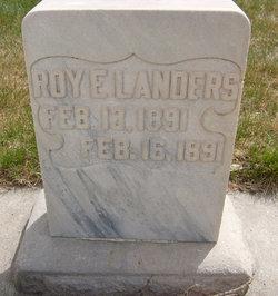 Roy E Landers