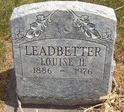 Louise Helen <I>Hafer</I> Leadbetter
