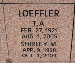 T A Loeffler