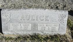 Helen K. <I>Gault</I> Aulick