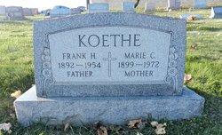 Marie Caroline <I>Clouse</I> Koethe
