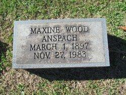 Maxine <I>Wood</I> Anspach