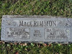 Roderick Malcolm MacCrimmon