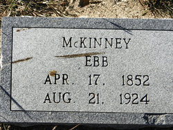 """Ebeneezer Napolean """"Ebb"""" McKinney"""