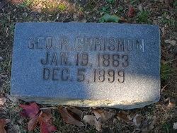 George R Chrismon