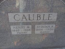 Syrena Ann <I>McCaslin</I> Cauble