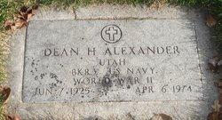 Dean Harland Alexander
