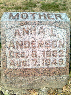 Anna Louise <I>Johnson</I> Anderson