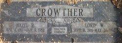 Lorin W Crowther
