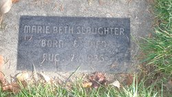 Marie Beth Slaughter
