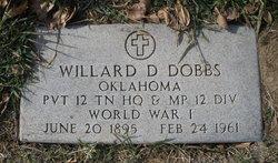Willard D Dobbs