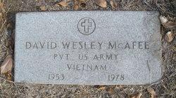 David Wesley McAfee