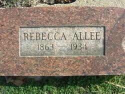 Rebecca A. <I>Reed</I> Allee