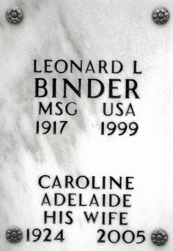 Leonard Lee Binder
