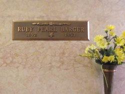 Ruby Pearl <I>Cravens</I> Barger