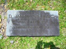 D. Jefferson Baugh