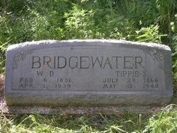 "Xantipa Sanders ""Tip"" <I>Gill</I> Bridgewater"