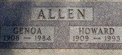 Genoa Evelyn <I>Christopher</I> Allen