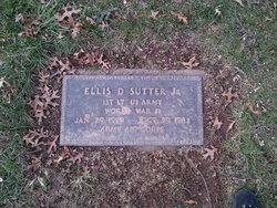 Ellis Dee Sutter, Jr