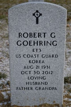 """Robert G """"Bob"""" Goehring"""